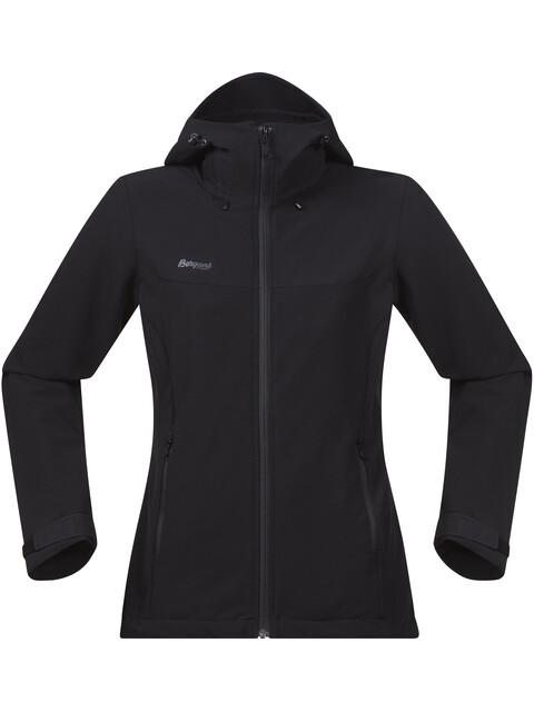 Bergans W's Ramberg Softshell Jacket Black/Solid Charcoal
